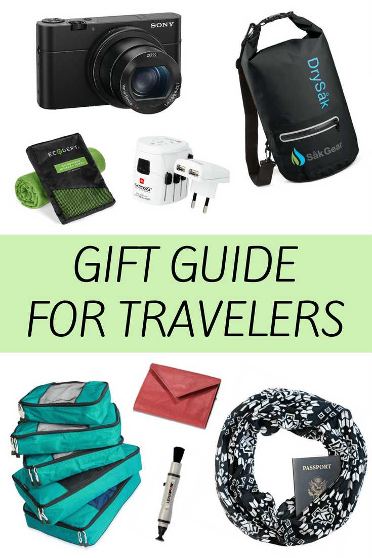 Gift guide for travelers and travel-lovers