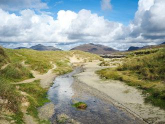 Isle of Harris in Scotland