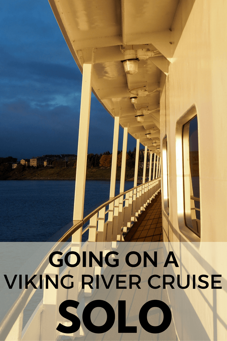 Going on a Viking River Cruise solo
