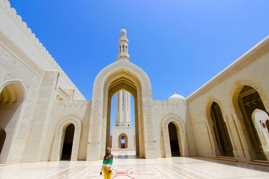 Mosque in Oman