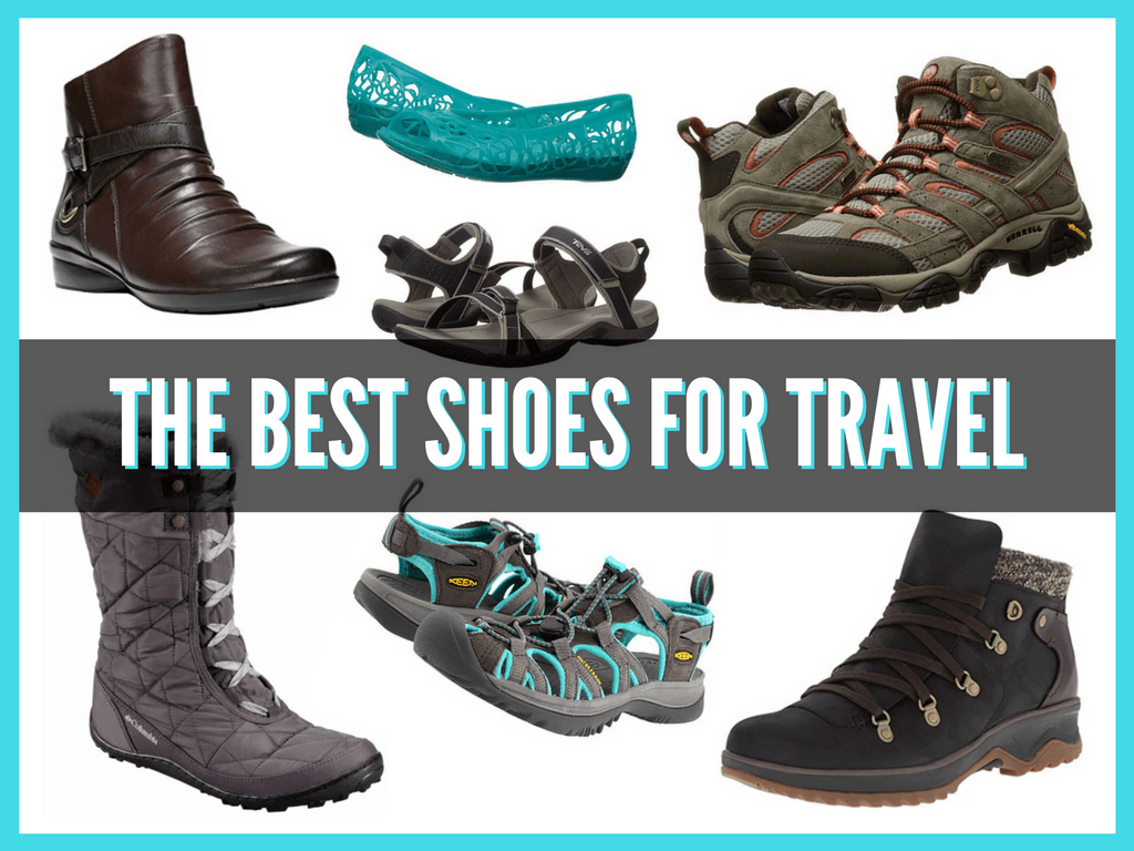 packing guide: the best shoes to buy for traveling