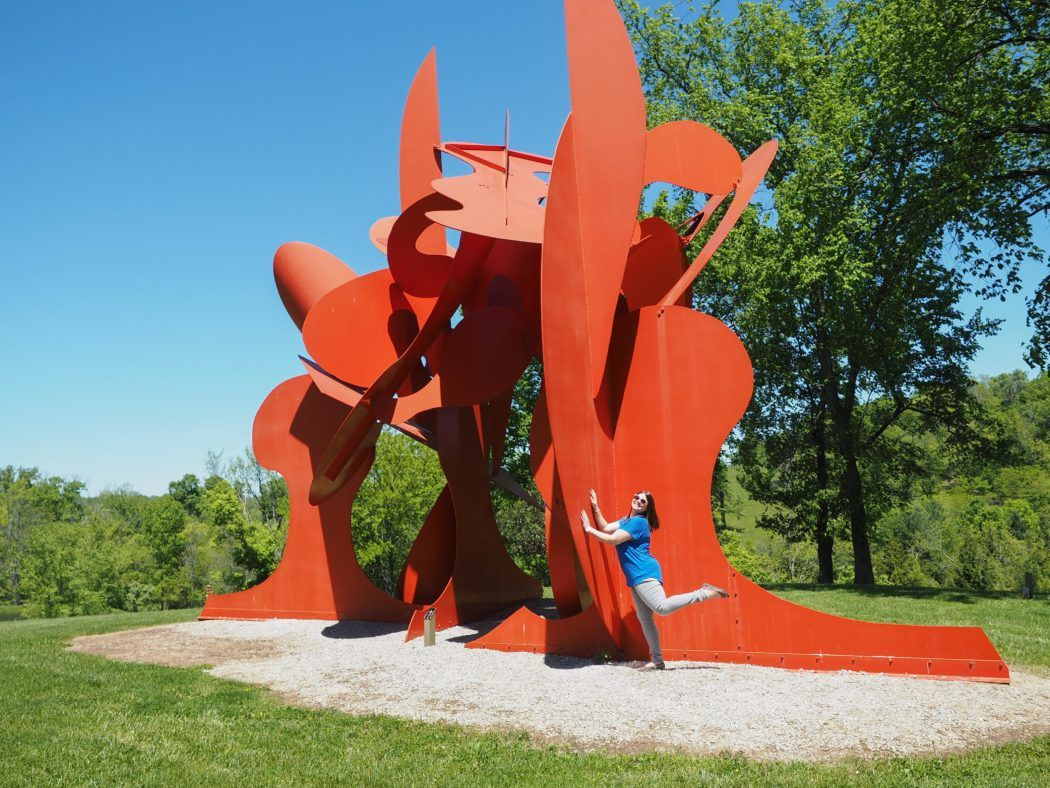 Pyramid Hill Sculpture Park in Butler County, Ohio
