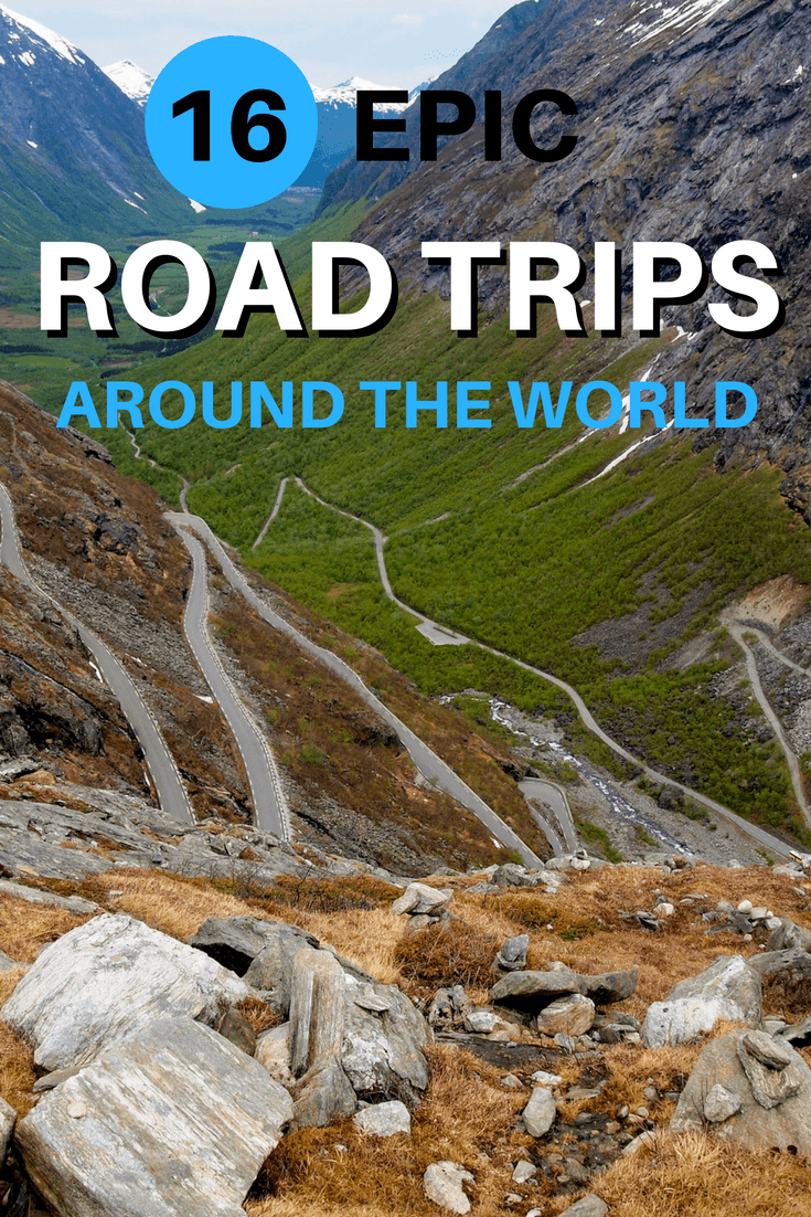 16 epic road trips around the world