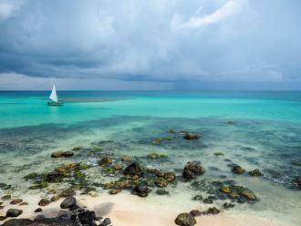 Sustainable travel Little Corn Island beach