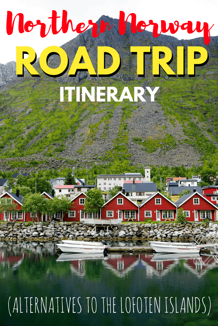 Northern Norway road trip itinerary (with alternatives to the Lofoten Islands) #Norway #roadtrip