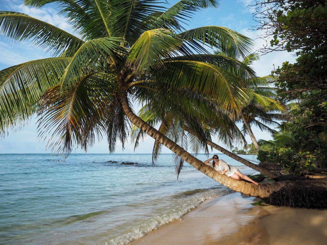 On the beach in Nicaragua