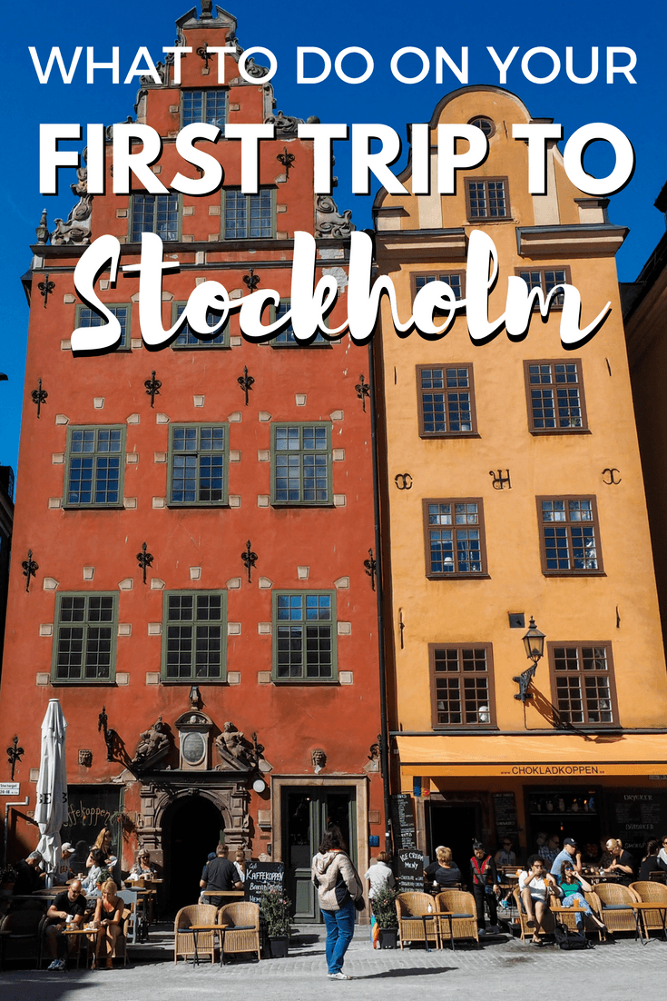 Things to do your first time in Stockholm