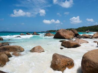Anse Lazio Beach in the Seychelles