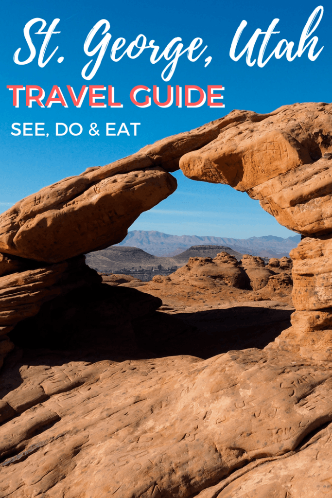 Travel guide to St. George, Utah