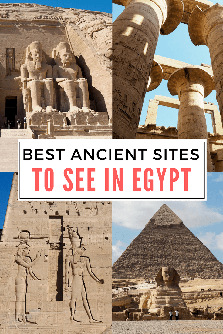 The best ancient sites to see in Egypt
