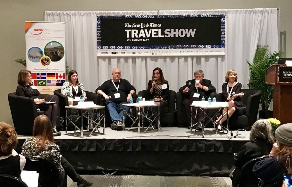 NYT Travel Show panel