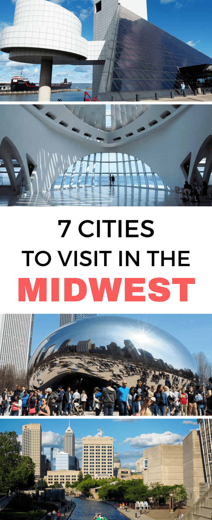 7 cities to visit in the American Midwest | Midwestern cities | #MyMidwest | Cleveland | Cincinnati | Indianapolis | Milwaukee | Chicago | Traverse City | Rapid City