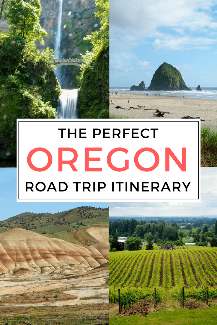 the perfect 10-day oregon road trip itinerary in summer
