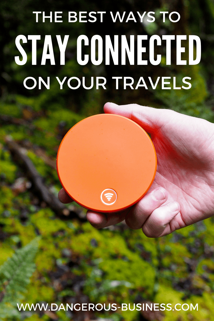 How to stay connected when you travel abroad