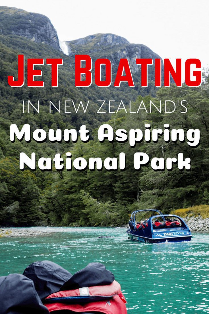 Jet boating with the Dart River Wilderness Jet in New Zealand