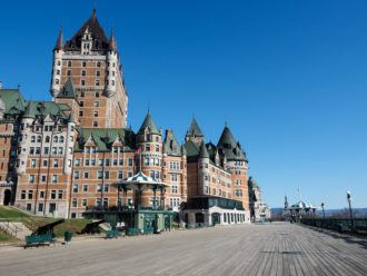 Fairmont Le Chateau Frontenac in Quebec City