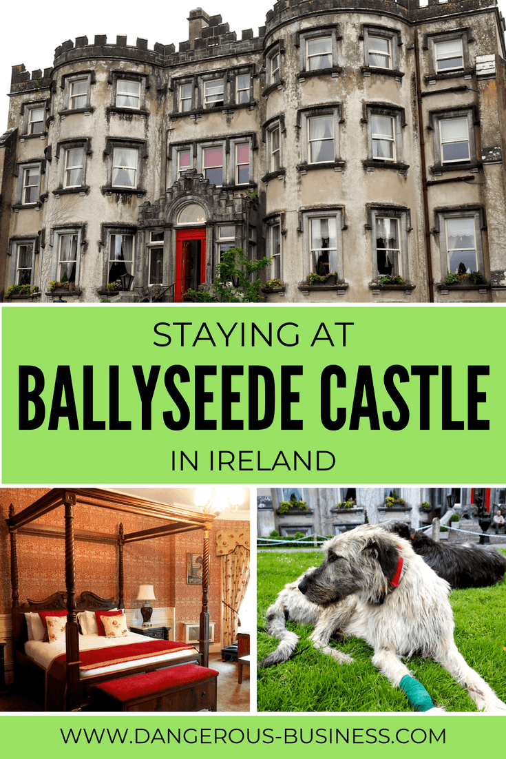 Staying at Ballyseede Castle Hotel in Ireland