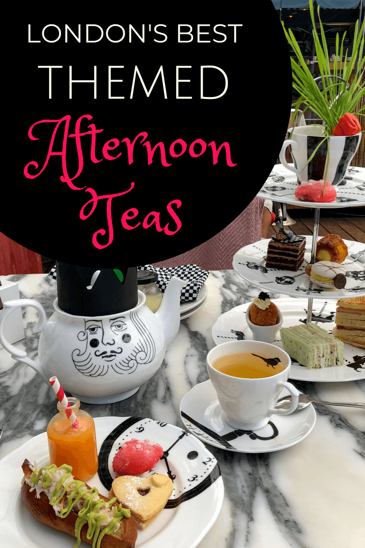 A Guide To The Most Unique Themed Afternoon Teas In London
