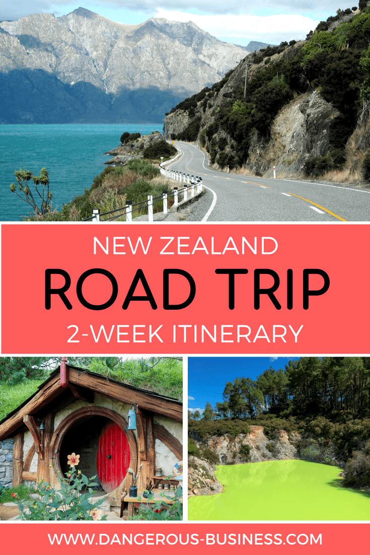 2-week New Zealand road trip itinerary