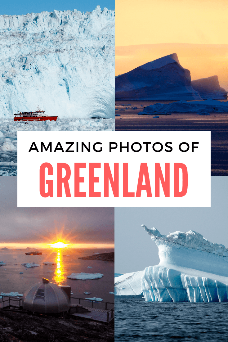 Photos of Greenland