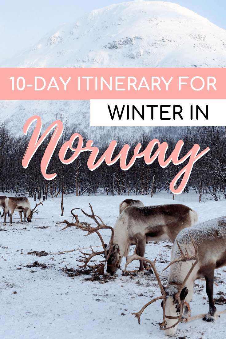 10-Day Itinerary for Norway in Winter