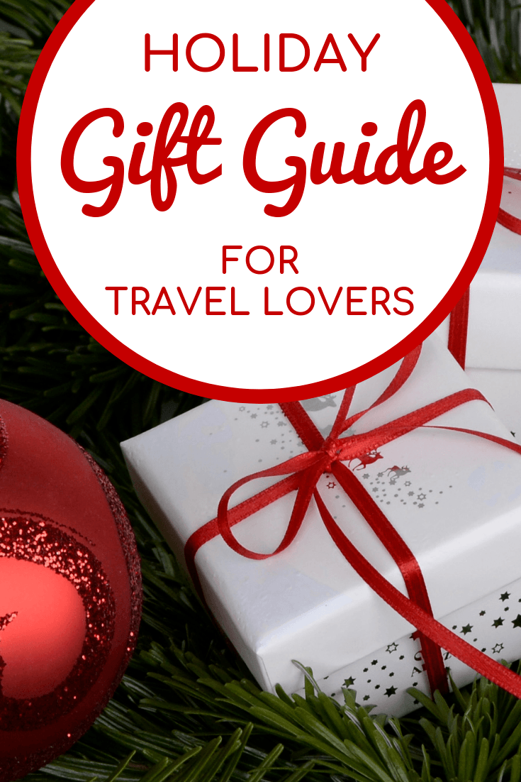 Holiday gift guide for travelers | #travel #giftguide #travelgifts