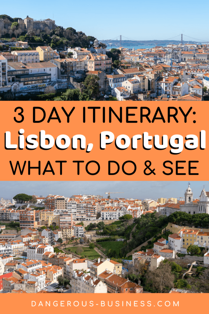 3-day itinerary for Lisbon, Portugal