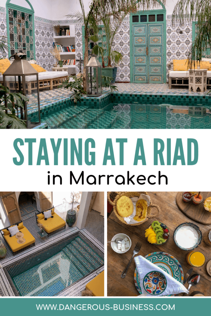 How to choose a riad in Marrakech