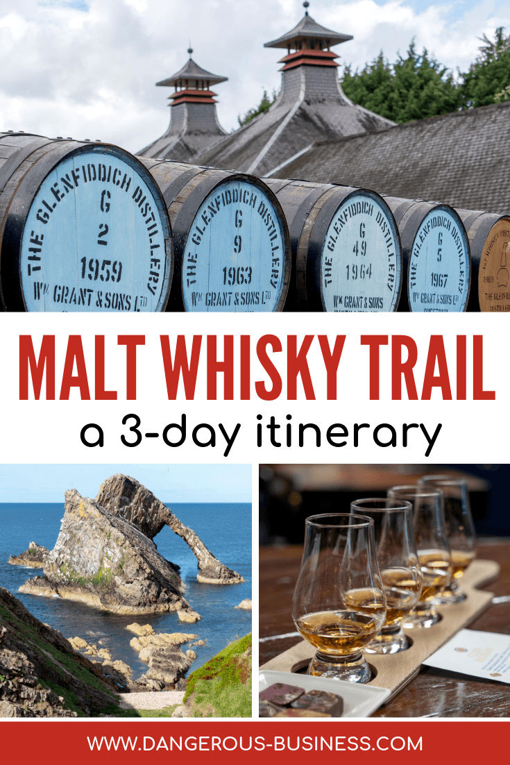 A 3-day Itinerary for the Malt Whisky Trail in Scotland