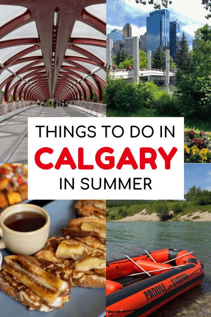 Calgary in summer