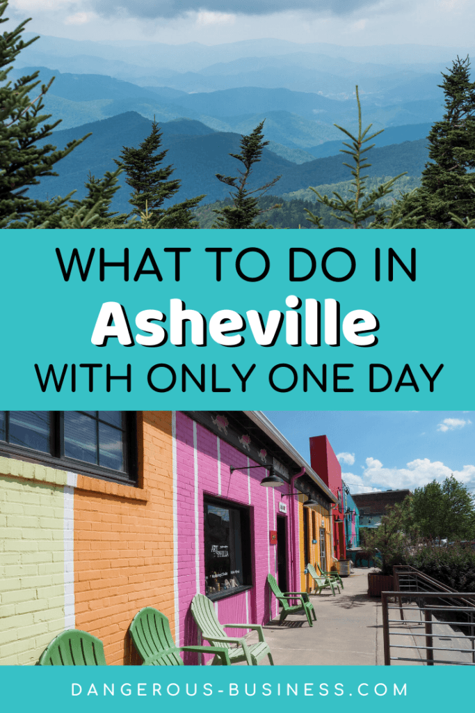 One day in Asheville, NC
