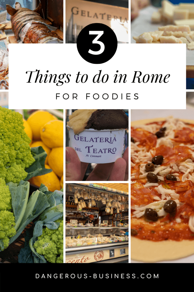 3 things to do in Rome for Foodies