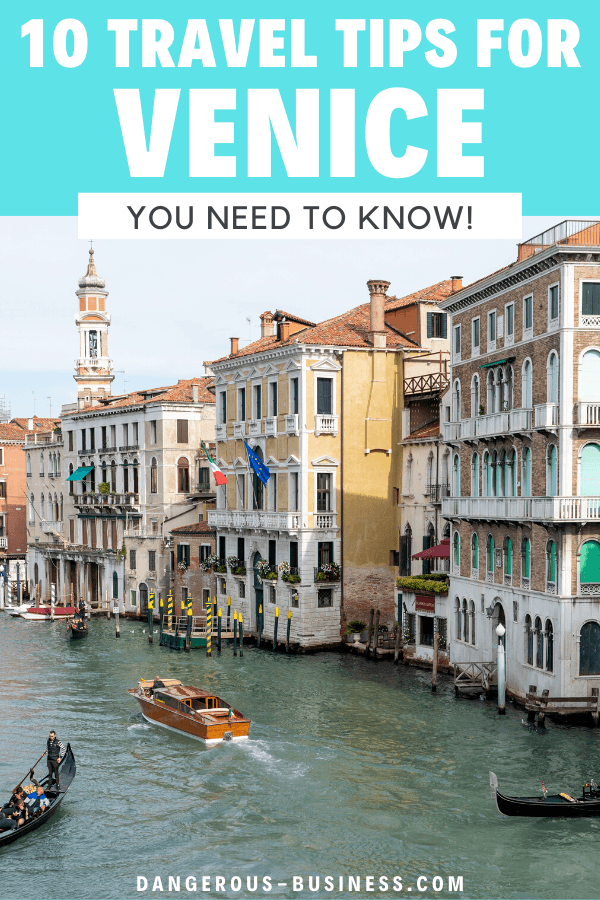 10 tips for visiting Venice, Italy