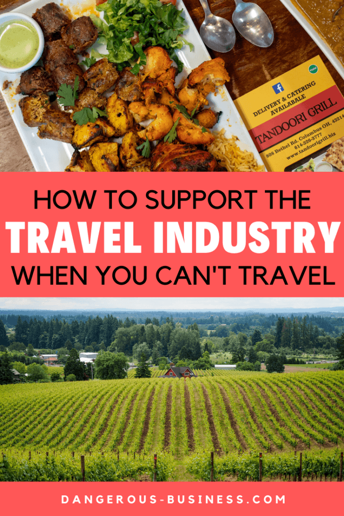 How to support the travel industry when you can't travel