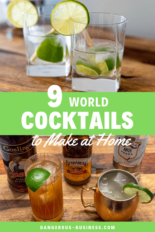 9 cocktails from around the world