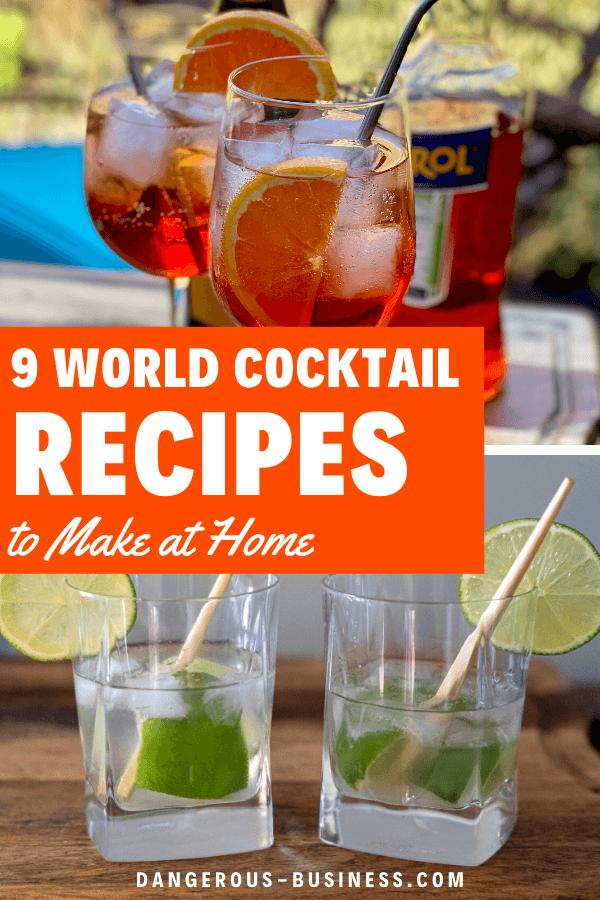 Recettes de cocktails du monde entier