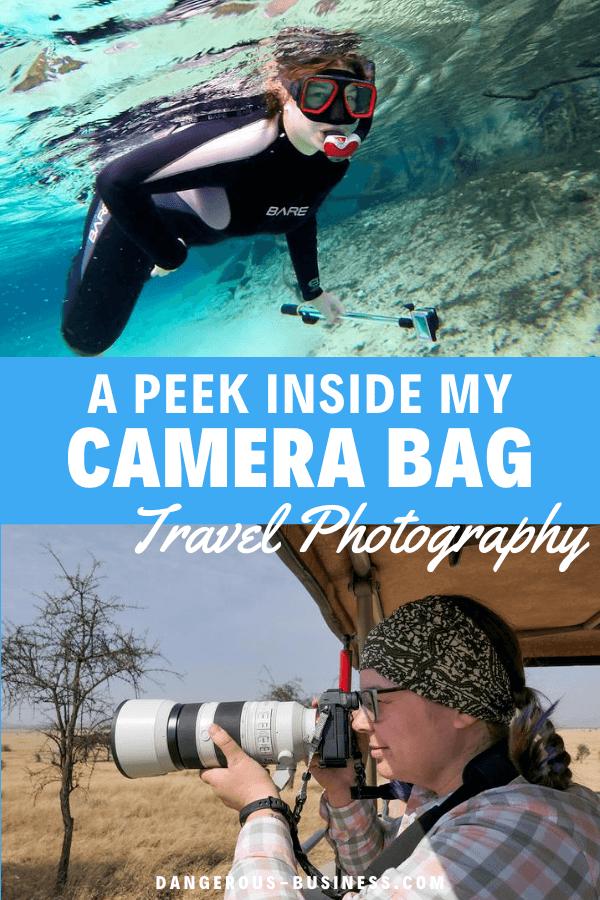 A peek inside my camera bag