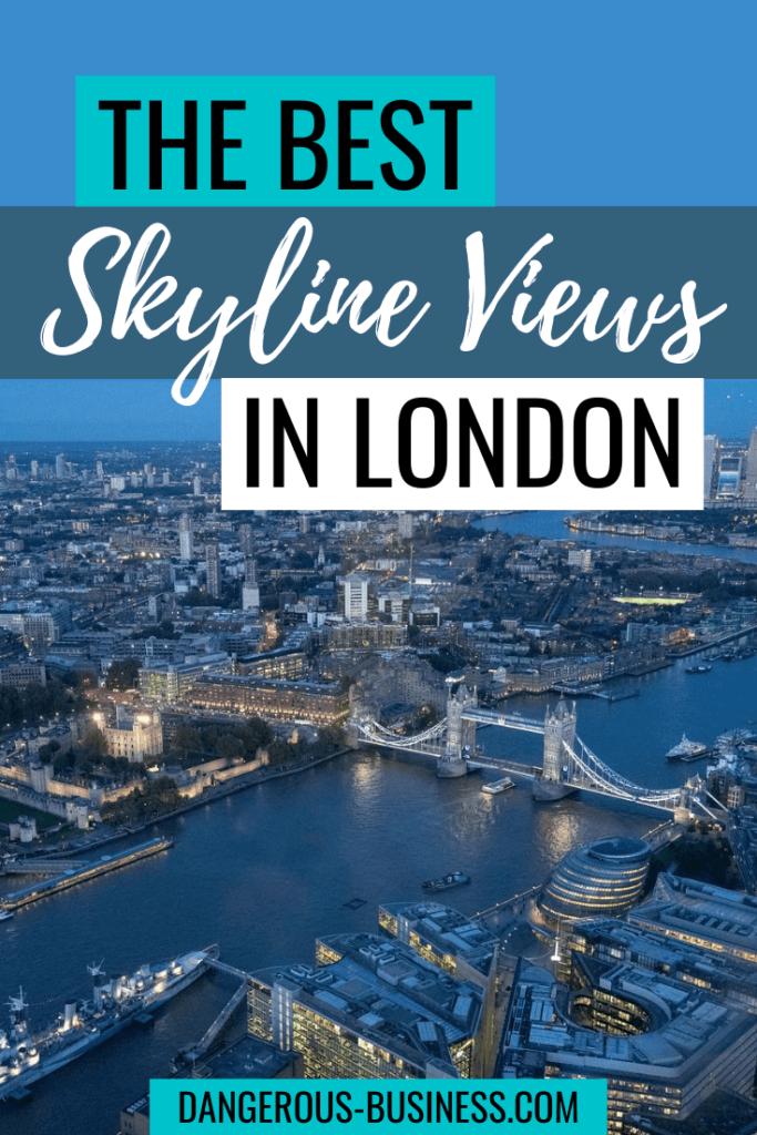 Best skyline views in London