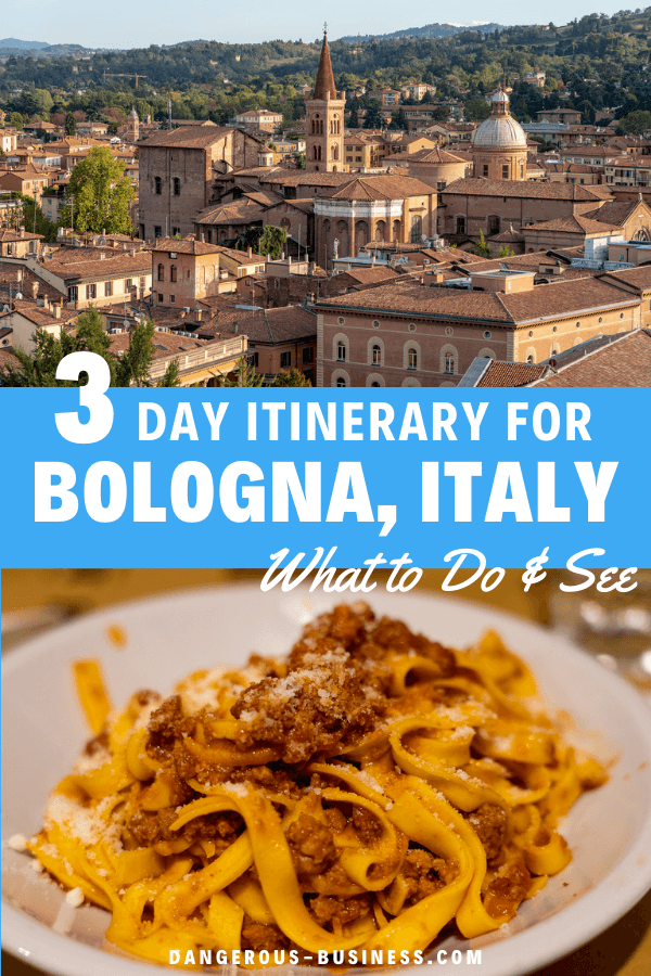 3 day Bologna itinerary