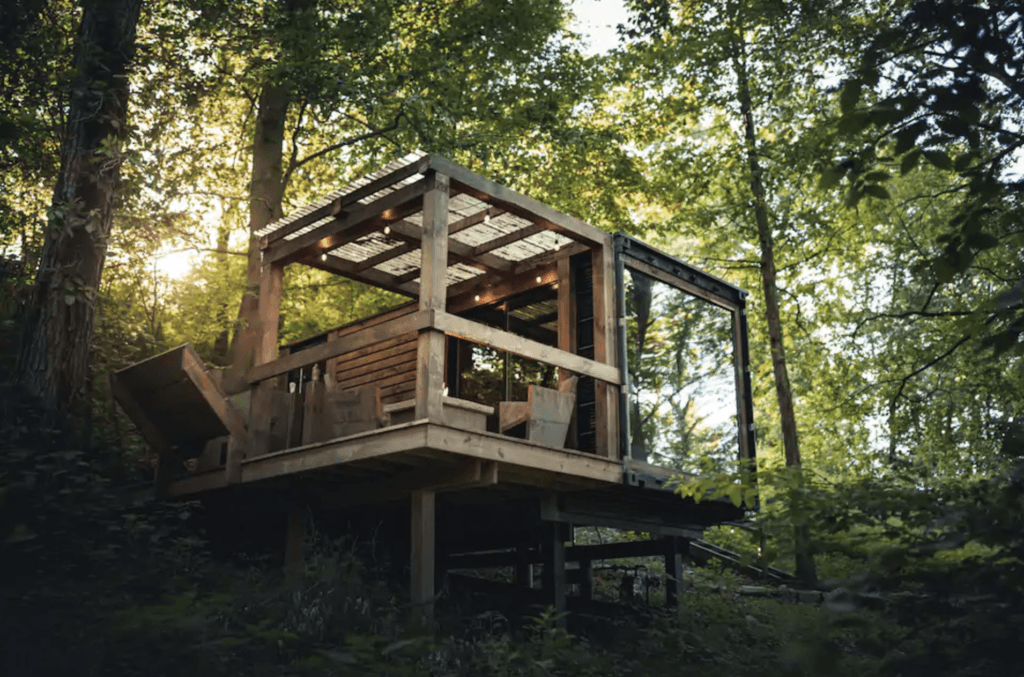 Forest Haven treehouse