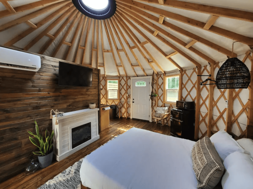 Hummingbird Yurt